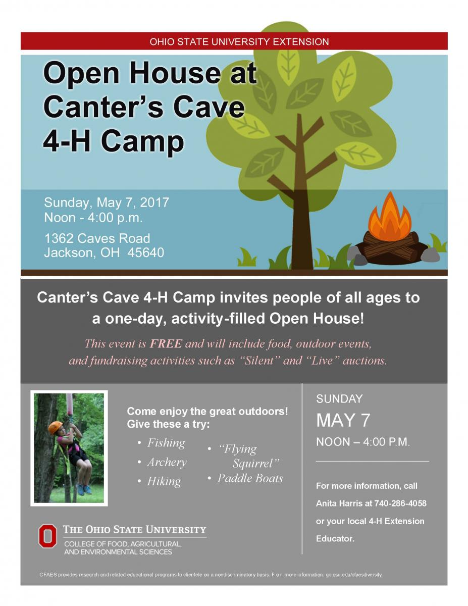Canter's Cave Open House